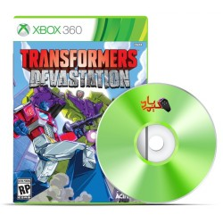بازی ترنسفرمرز - Transformers Devastation XBOX 360