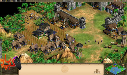 خرید بازی Age of Empires II HD The African Kingdoms