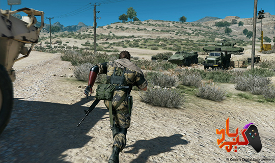 خرید بازی Metal Gear Solid V The Phantom Pain